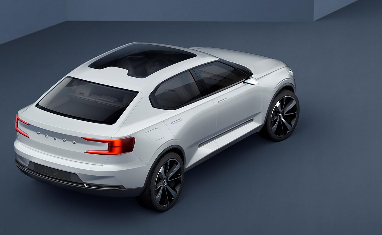 Volvo Concept 40.2 rear quarter high