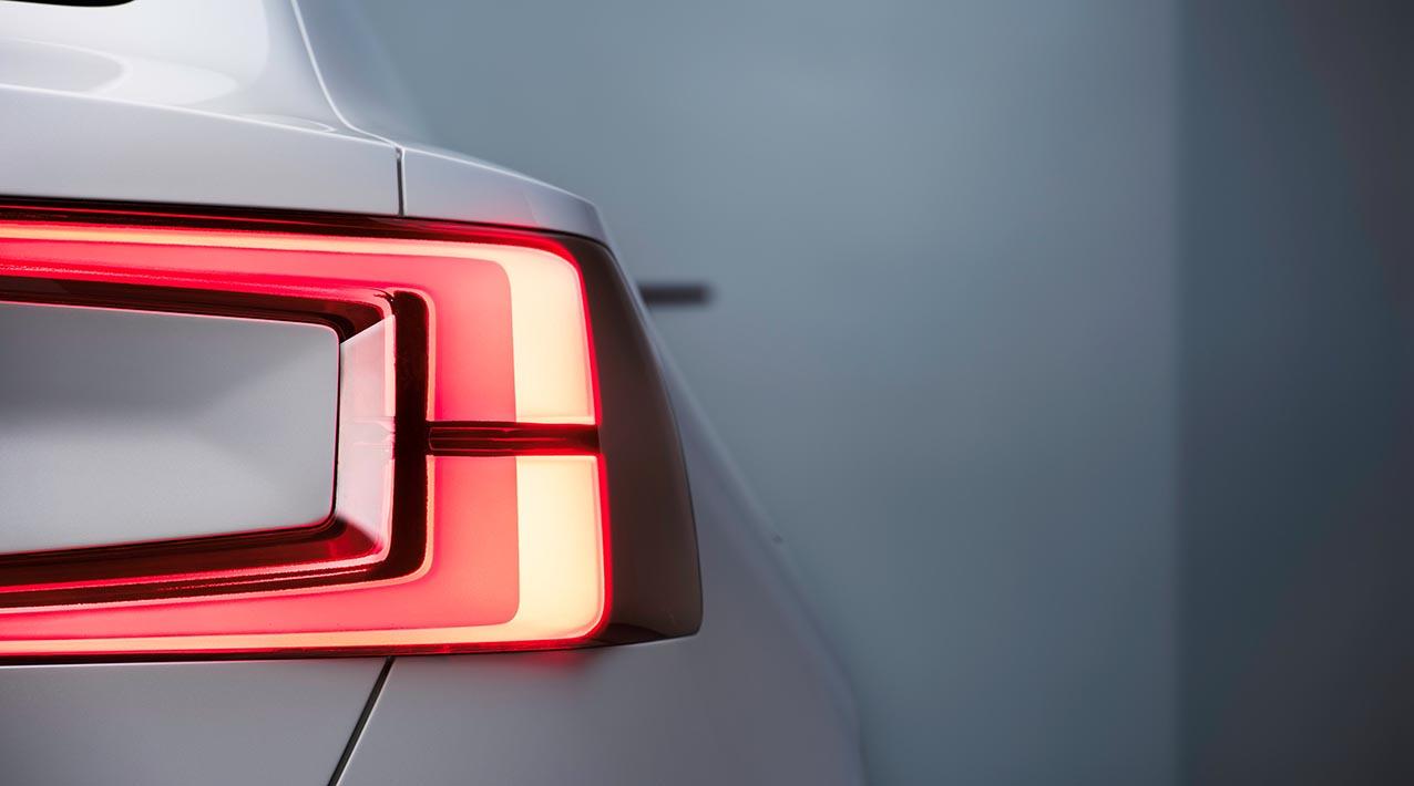 Volvo Concept 40.2, ett coupé-koncept på CMA-plattformen.