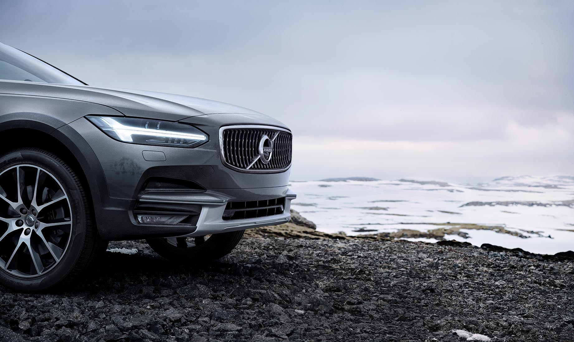 Nya Volvo V90 Cross Country