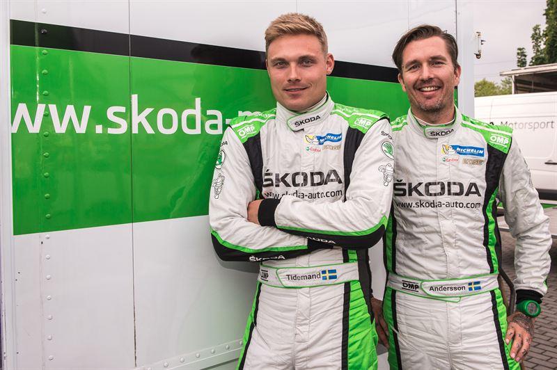 Pontus Tidemand och Jonas Andersson